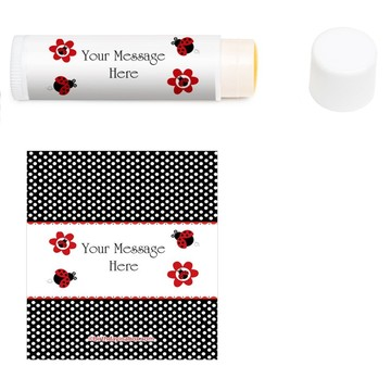 Ladybug Personalized Lip Balm (12 Pack)
