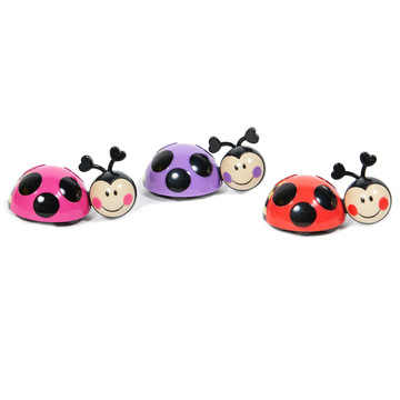 Ladybugs Cake Toppers (3 Pieces)