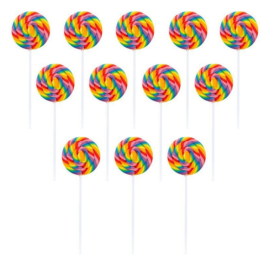 View larger image of Large Swirl Lollipops (12 Ct )