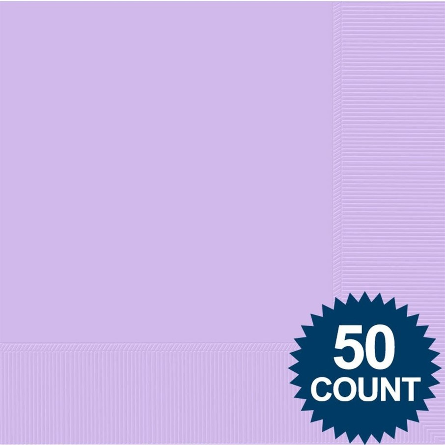 View larger image of Lavender 2-Ply Luncheon Napkins, 50 ct.