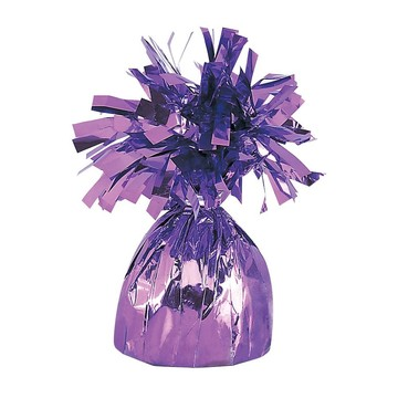 Lavender Foil Balloon Weight