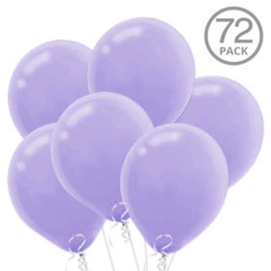 View larger image of Lavender Latex Balloons (72 Count)