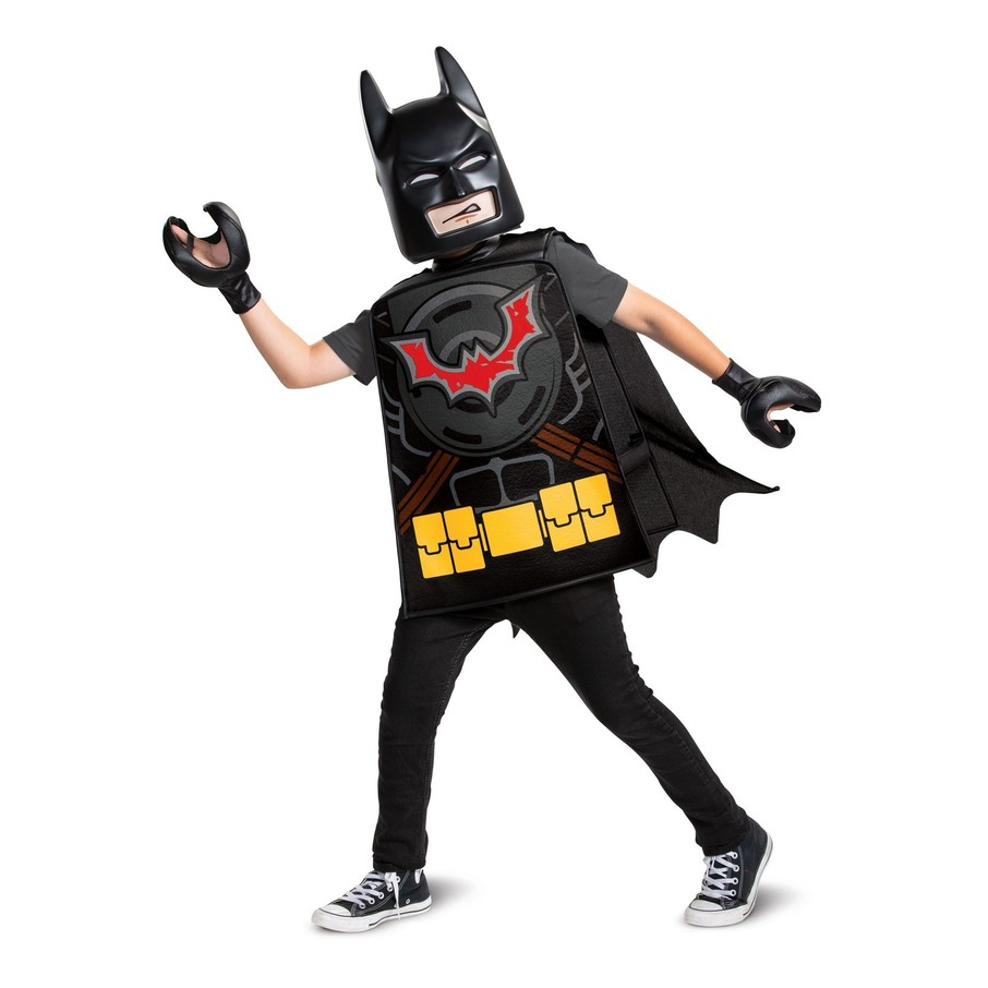 View larger image of Lego Movie 2: Batman Basic Child Costume