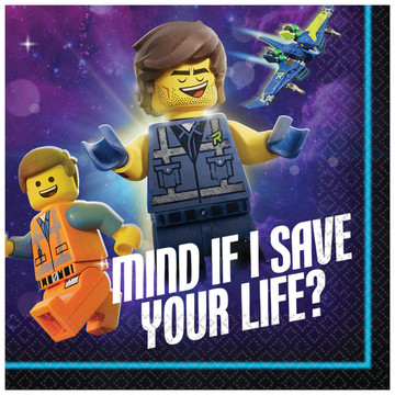 Lego Movie 2 Beverage Napkin (16)