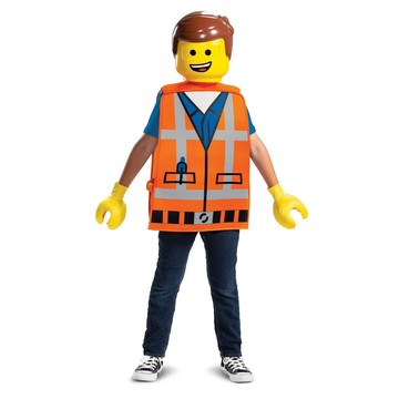 Lego Movie 2: Emmet Basic Child Costume