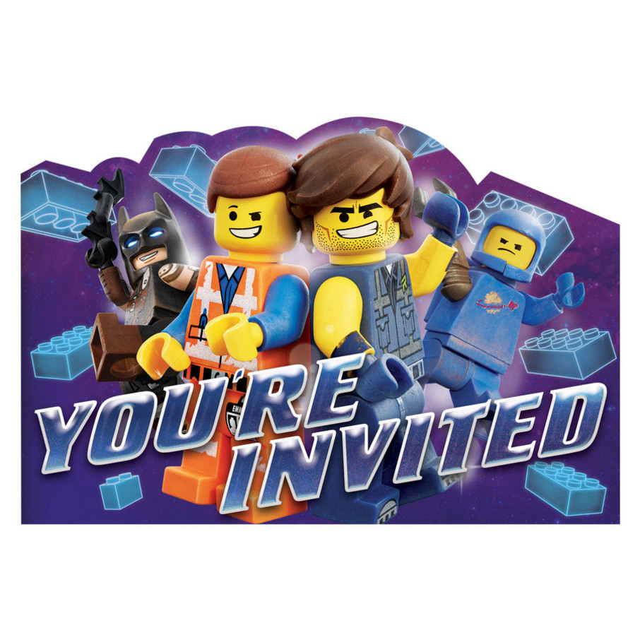 View larger image of Lego Movie 2 Invite Postcard (8)