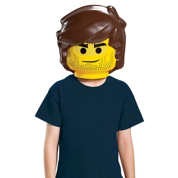 Lego Movie 2: Rex Dangervest Child Mask