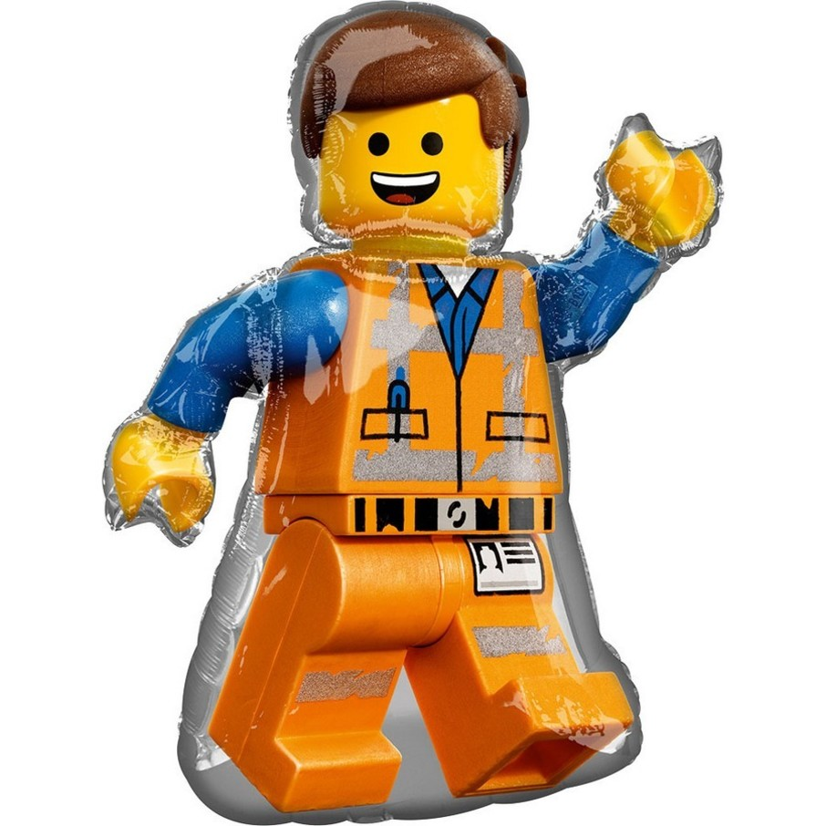"View larger image of Lego Movie 2 32"" Emmet Balloon (1)"