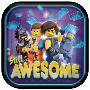 Lego Movie 2 Square Dessert Plate (8)