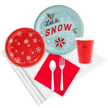 Let It Snow 24 Guest Party Pack