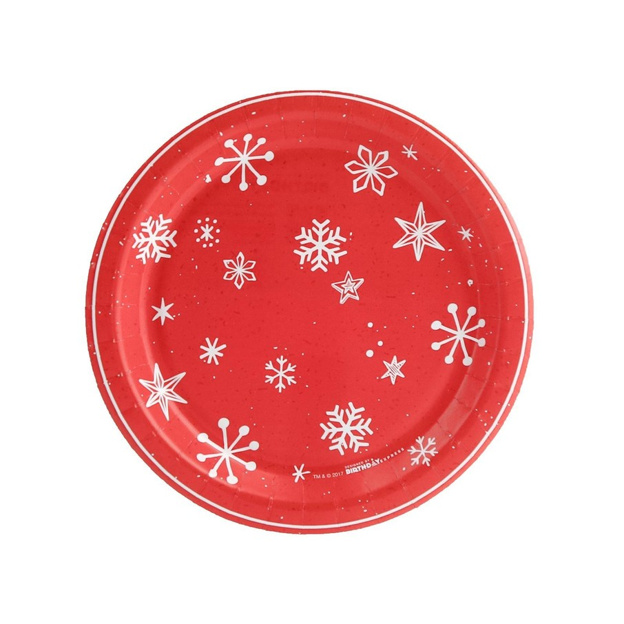 View larger image of Let it Snow Dessert Plate (8)