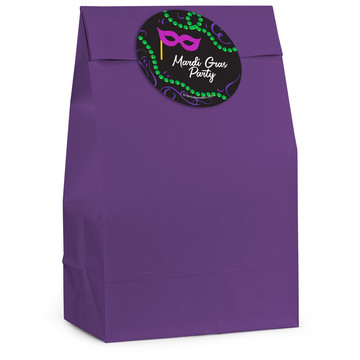 Let The Good Times Roll Personalized Favor Bag (12 Pack)