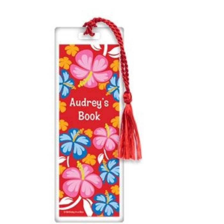 View larger image of Let's Luau Personalized Bookmark (each)