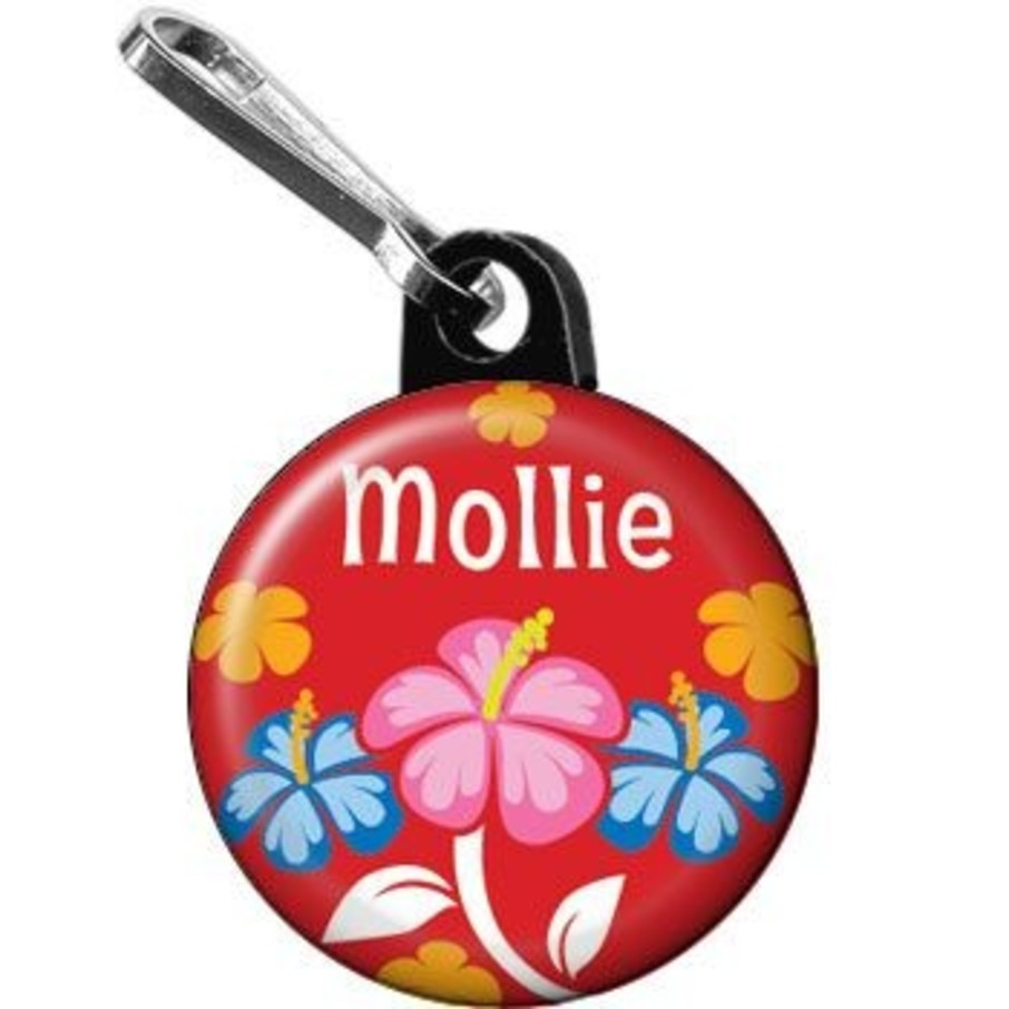View larger image of Let's Luau Personalized Mini Zipper Pull (each)