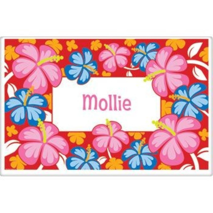 View larger image of Let's Luau Personalized Placemat (each)