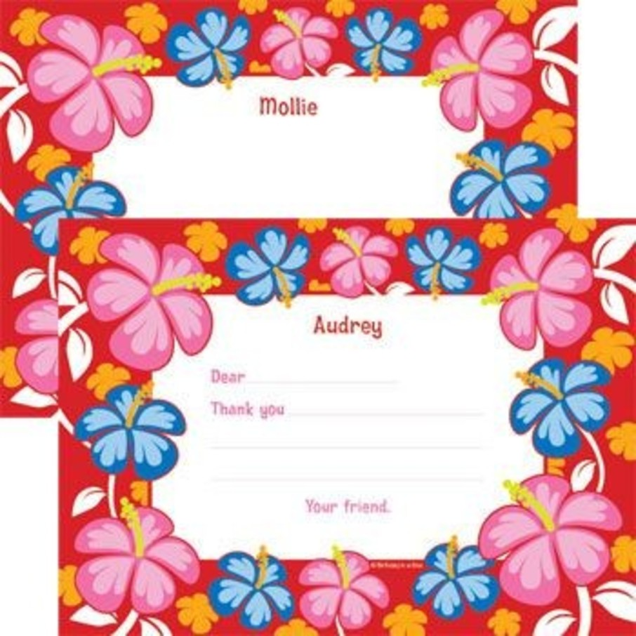 View larger image of Let's Luau Personalized Thank You Note