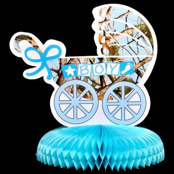 "Light Blue ""It's a Boy"" Centerpiece (Each)"