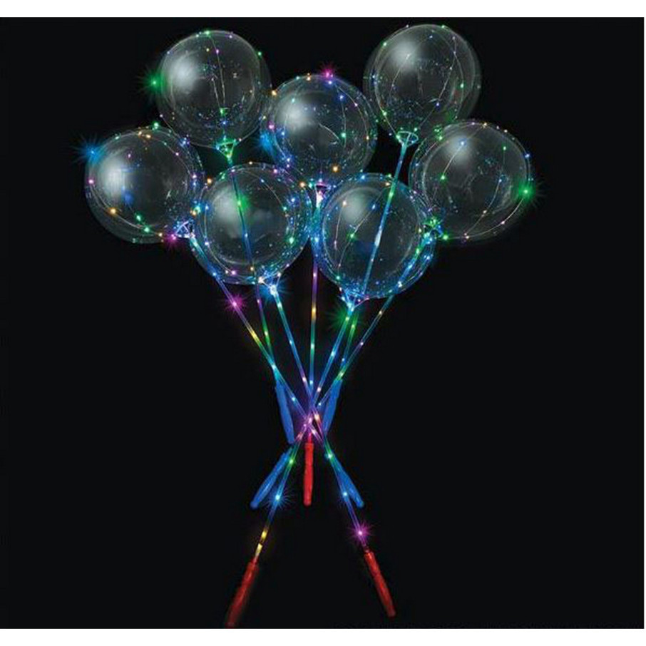 View larger image of Light-Up Lollipop Balloon Wand (1)