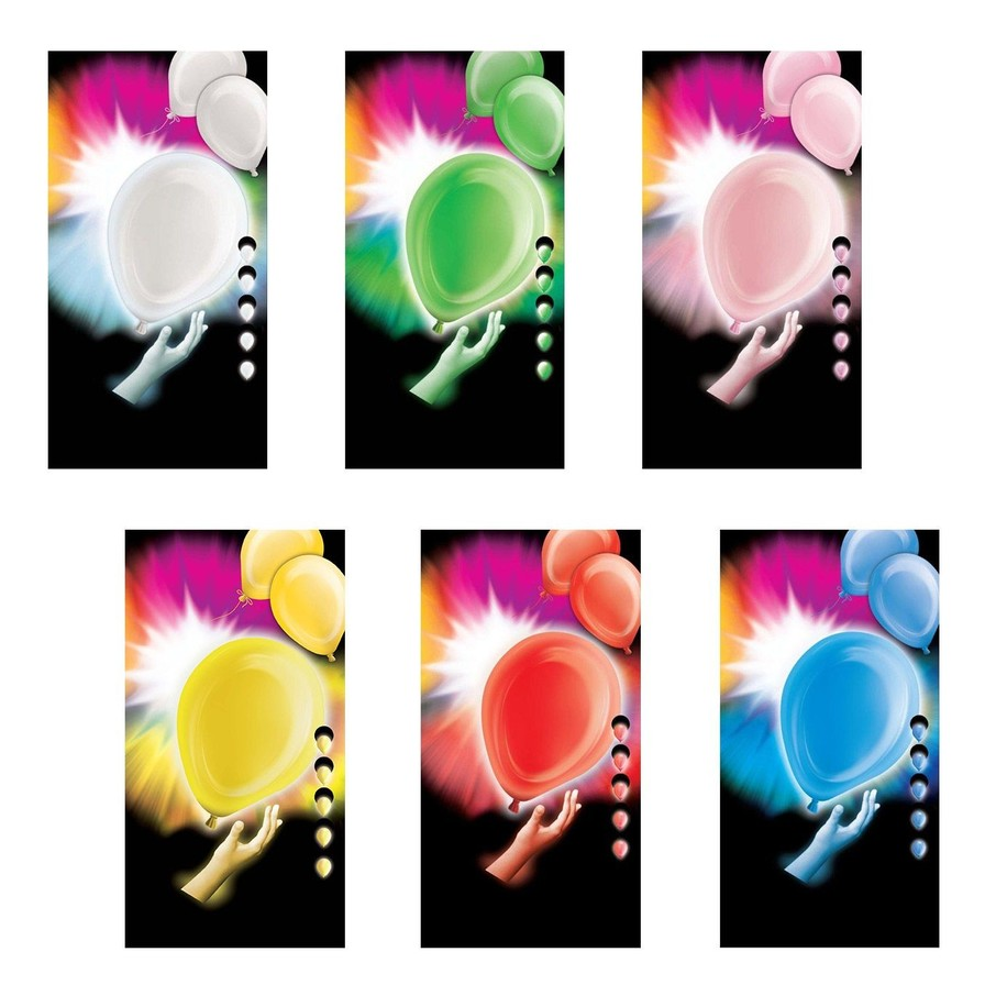 "View larger image of Light Up LED 12"" Balloons (5 Pack)"