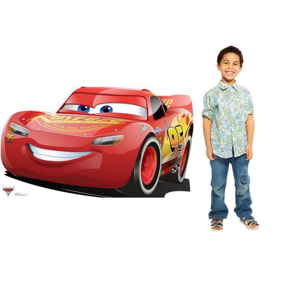 View larger image of Lightning McQueen - Cars 3 Stand In
