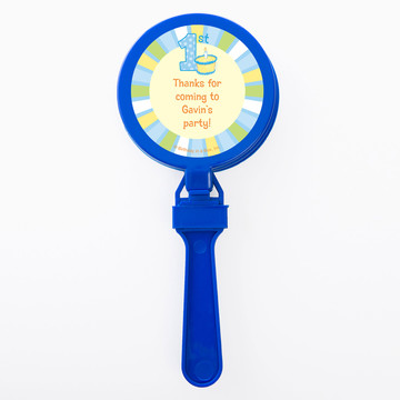 Lil Boy 1st Birthday Personalized Clappers (Set of 12)