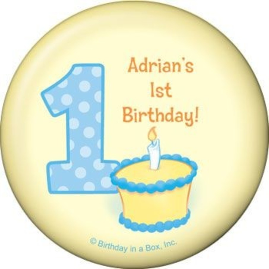View larger image of Lil' Boy 1st Birthday Personalized Magnet (each)