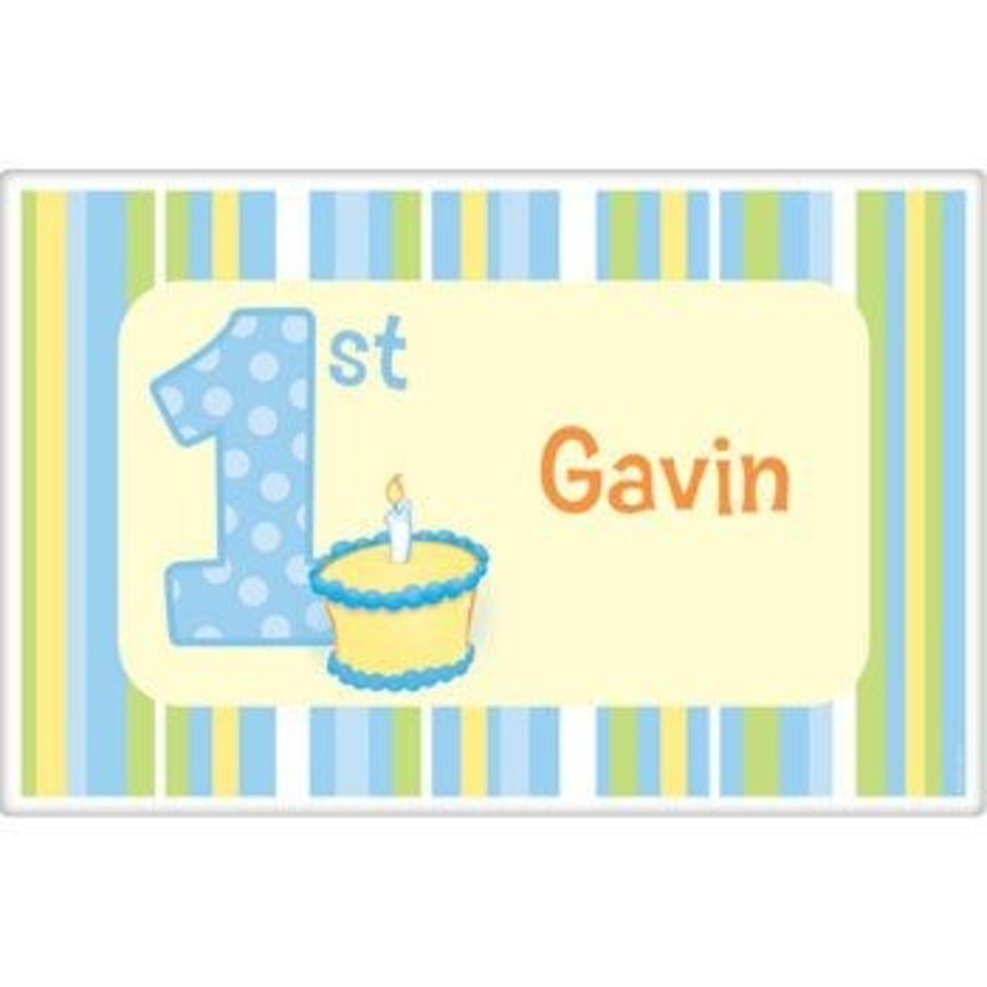 View larger image of Lil' Boy 1st Birthday Personalized Placemat (each)