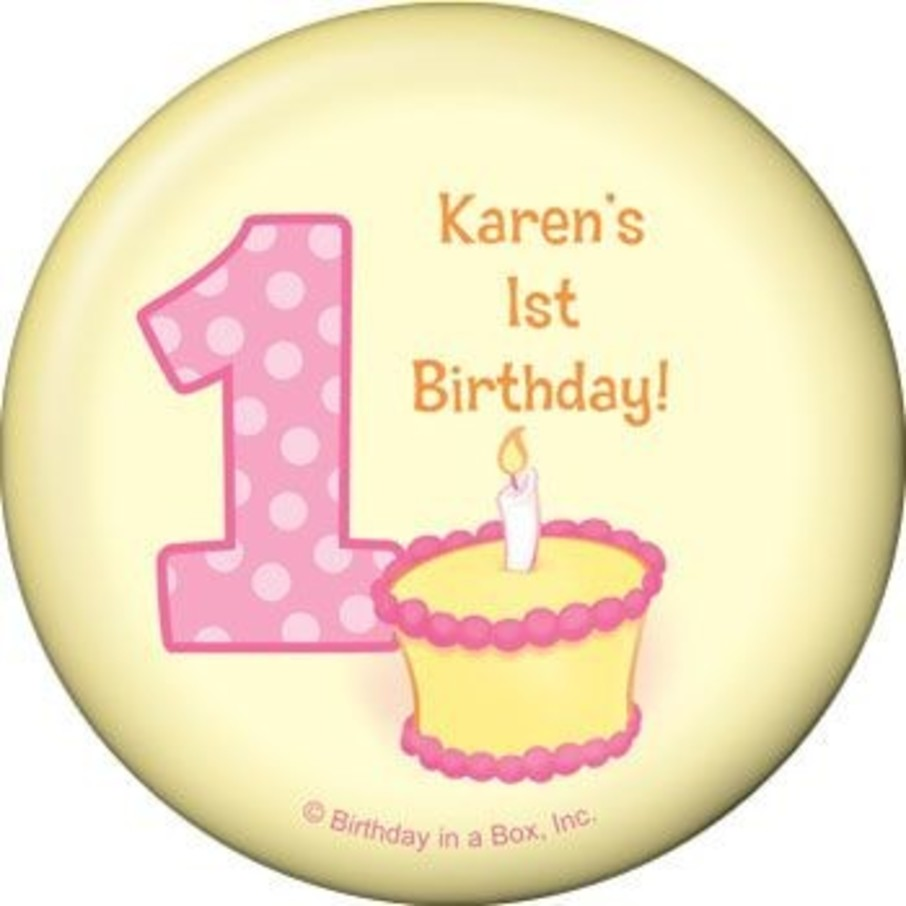 View larger image of Lil' Girl 1st Birthday Personalized Magnet (each)