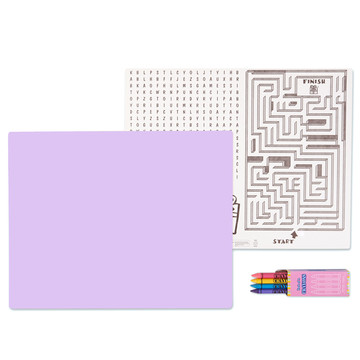 Lilac Activity Placemat Kit for 4