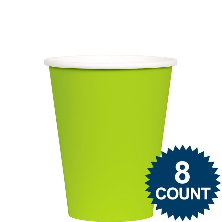 View larger image of Lime 9 oz. Paper Cup, 8ct.