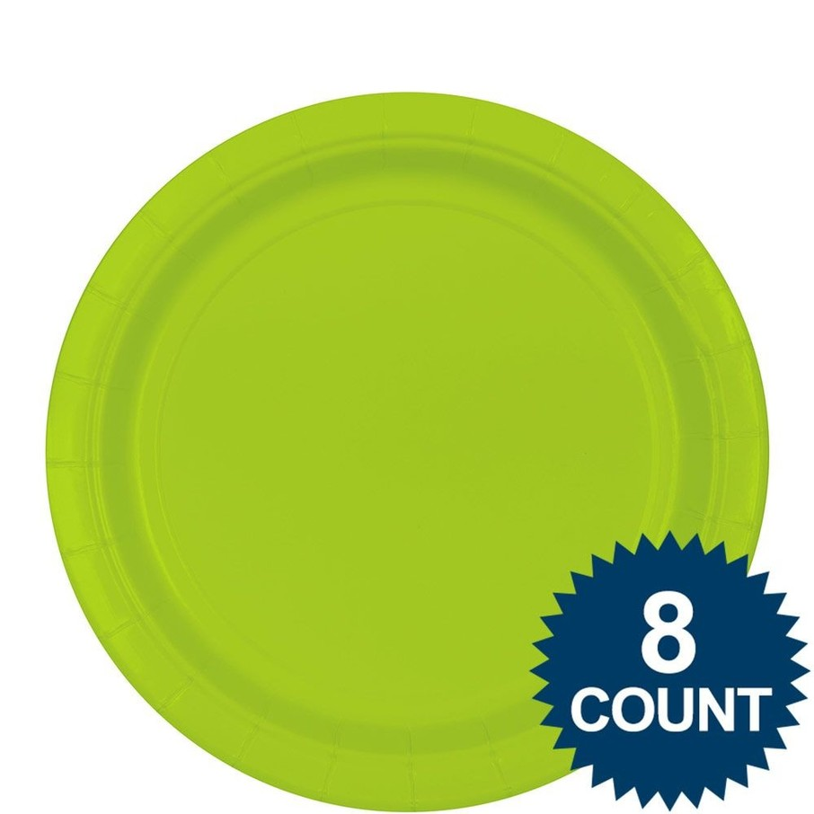 View larger image of Dinner Plate - Lime  Green (8)