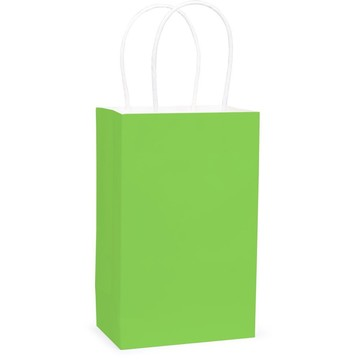 Lime Favor Bag