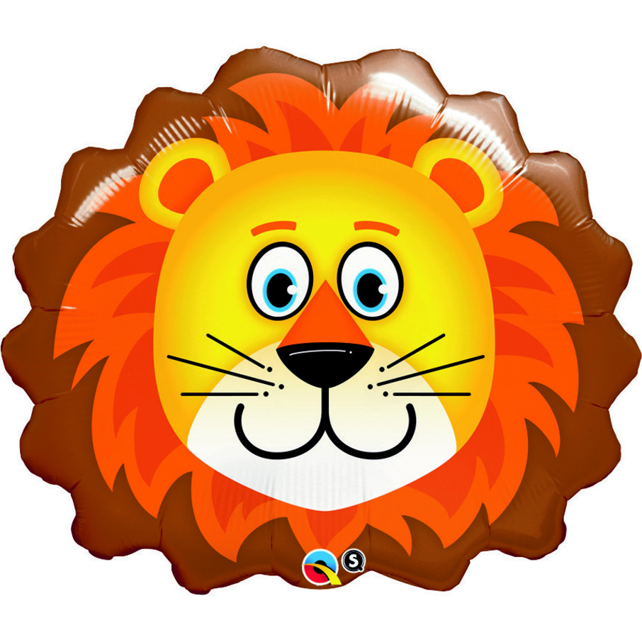 """View larger image of Lion 29"""" Balloon"""