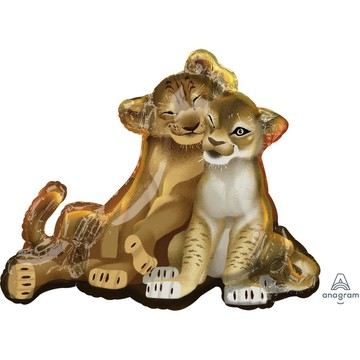 Lion King 31 Jumbo Shaped Foil Balloon