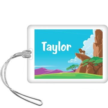Lion Kingdom Personalized Bag Tag (each)