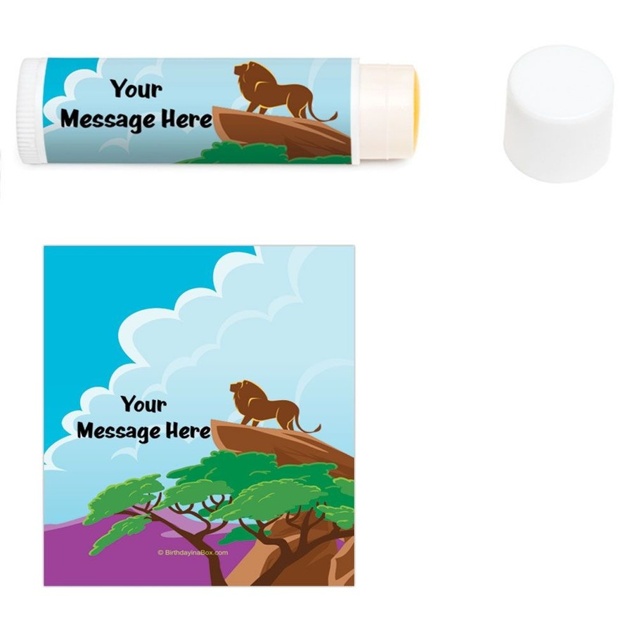 View larger image of Lion Kingdom Personalized Lip Balm (12 Pack)