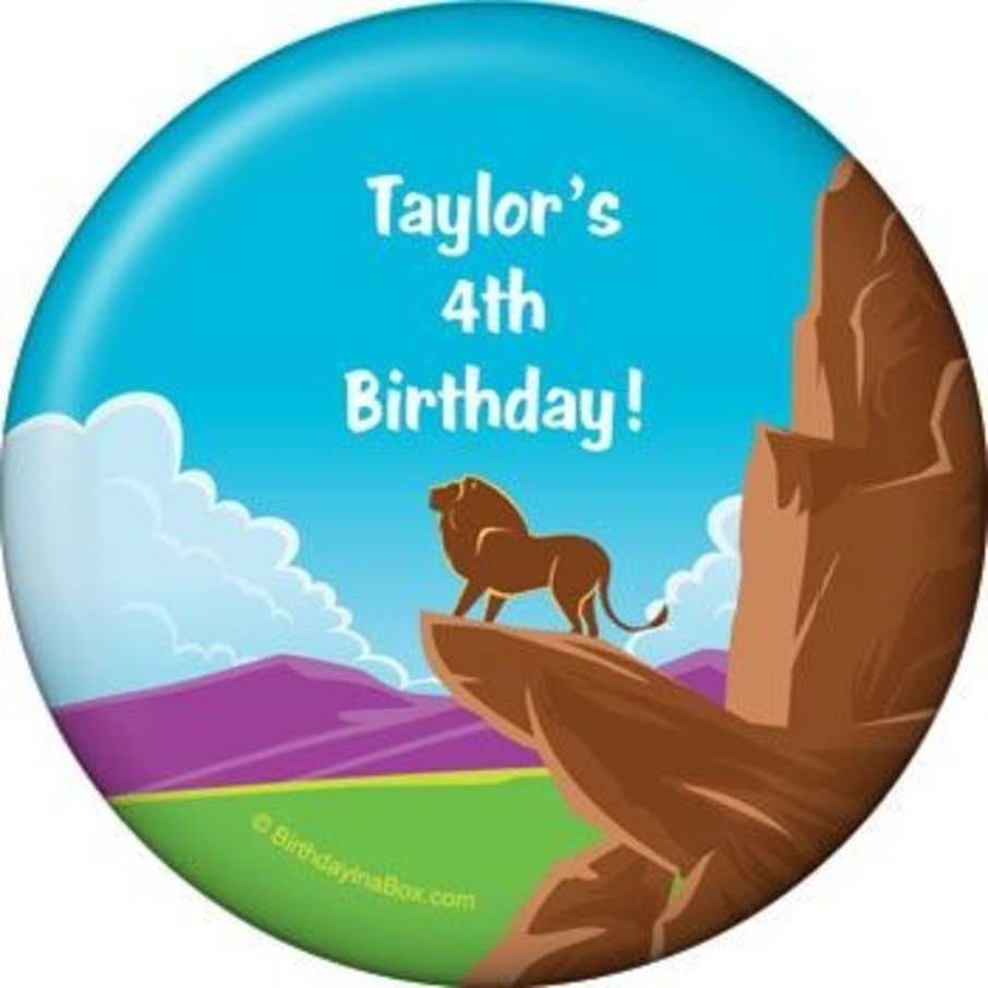View larger image of Lion Kingdom Personalized Magnet (each)