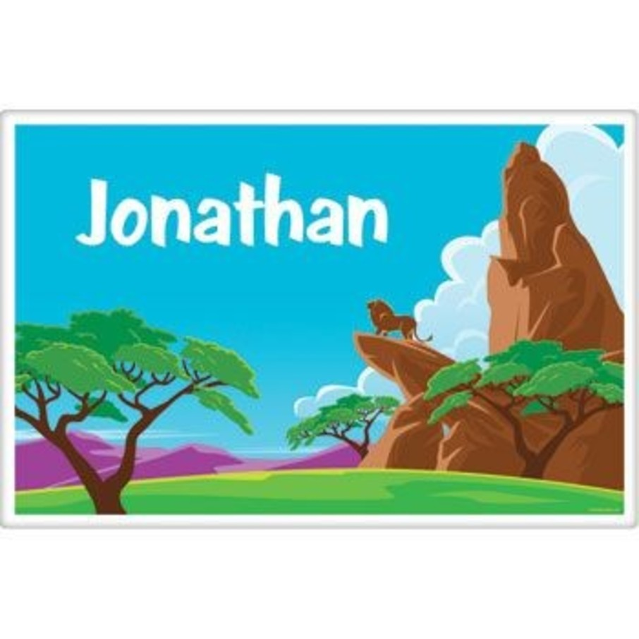 View larger image of Lion Kingdom Personalized Placemat (each)
