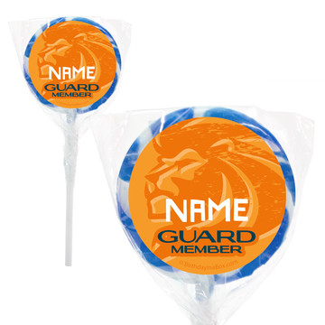 "Lion Pride Personalized 2"" Lollipops (20 Pack)"