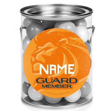 Lion Pride Personalized Mini Paint Cans (12 Count)