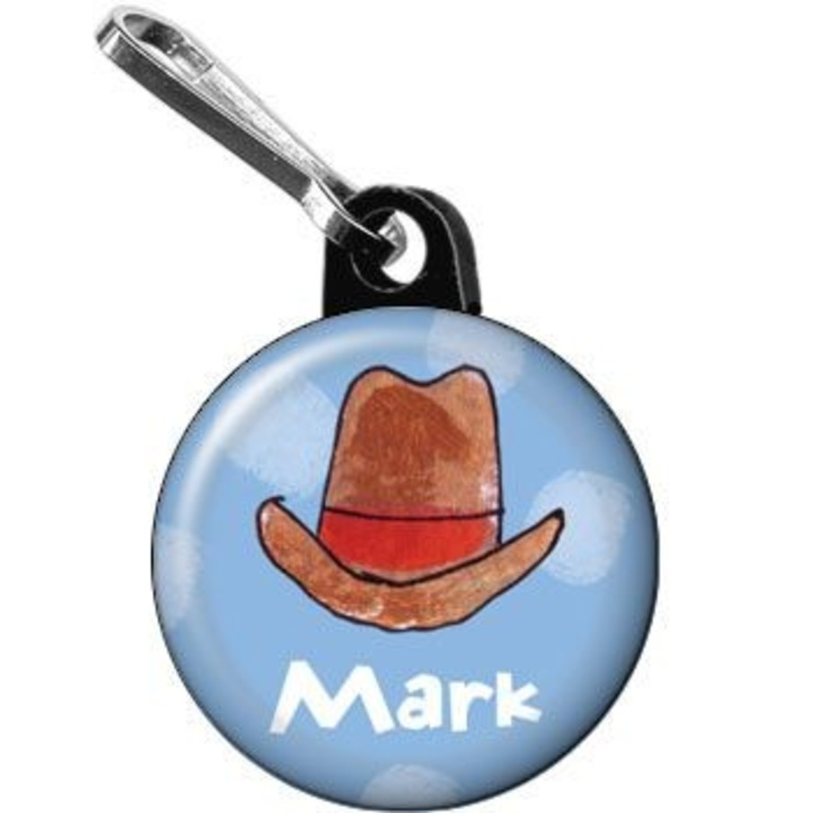 View larger image of Little Cowboy Party Personalized Mini Zipper Pull (each)
