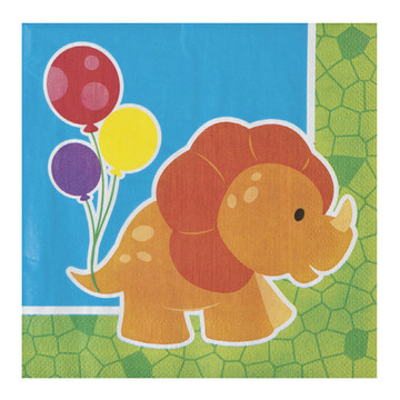 Little Dino Luncheon Napkins (16)