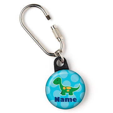 "Little Dino Personalized 1"" Carabiner (Each)"