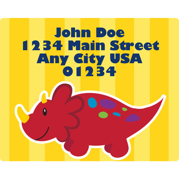 Little Dino Personalized Address Labels (Sheet of 15)
