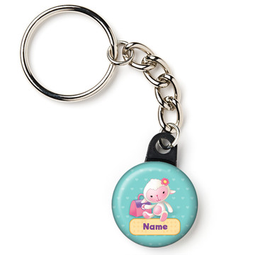 "Little Doc Personalized 1"" Mini Key Chain (Each)"
