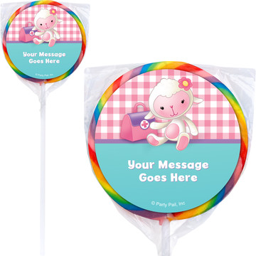 Little Doc Personalized Lollipops (12 Pack)