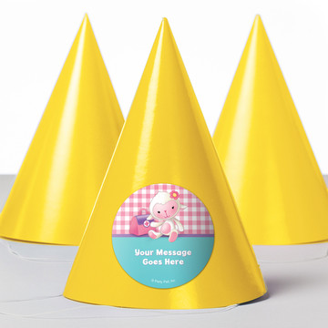 Little Doc Personalized Party Hats (8 Count)
