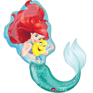 "Little Mermaid Friends 29"" Shape Balloon (Each)"