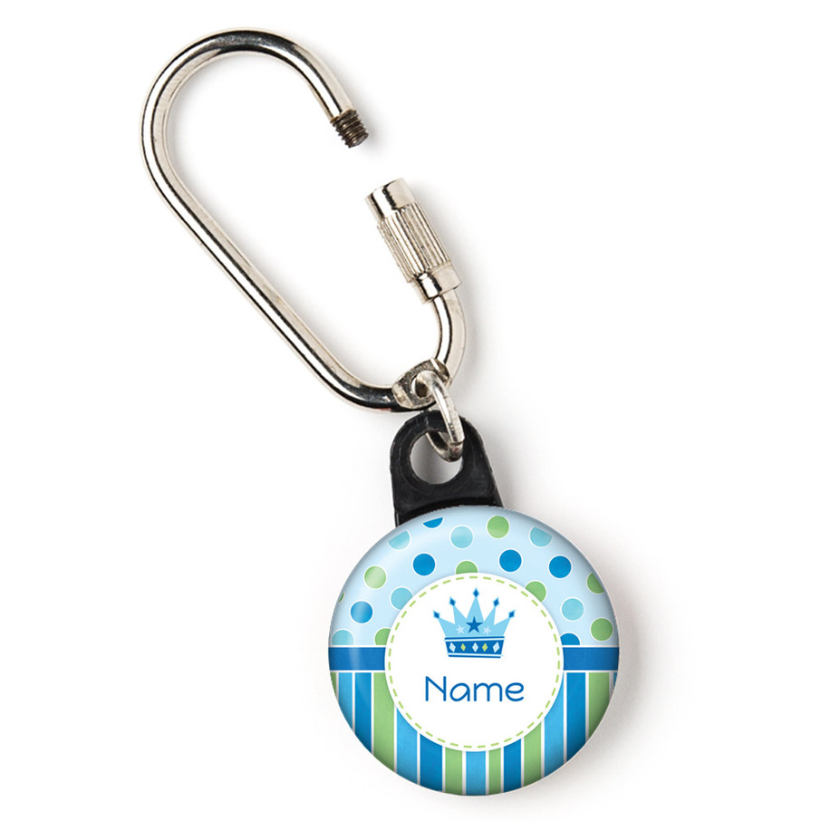 """View larger image of Little Prince Personalized 1"""" Carabiner (Each)"""