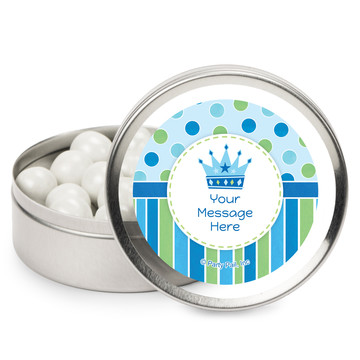 Little Prince Personalized Mint Tins (12 Pack)